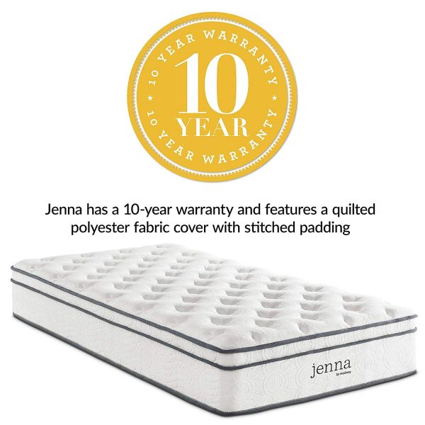 "Modway Jenna 10"" Twin Innerspring Mattress"
