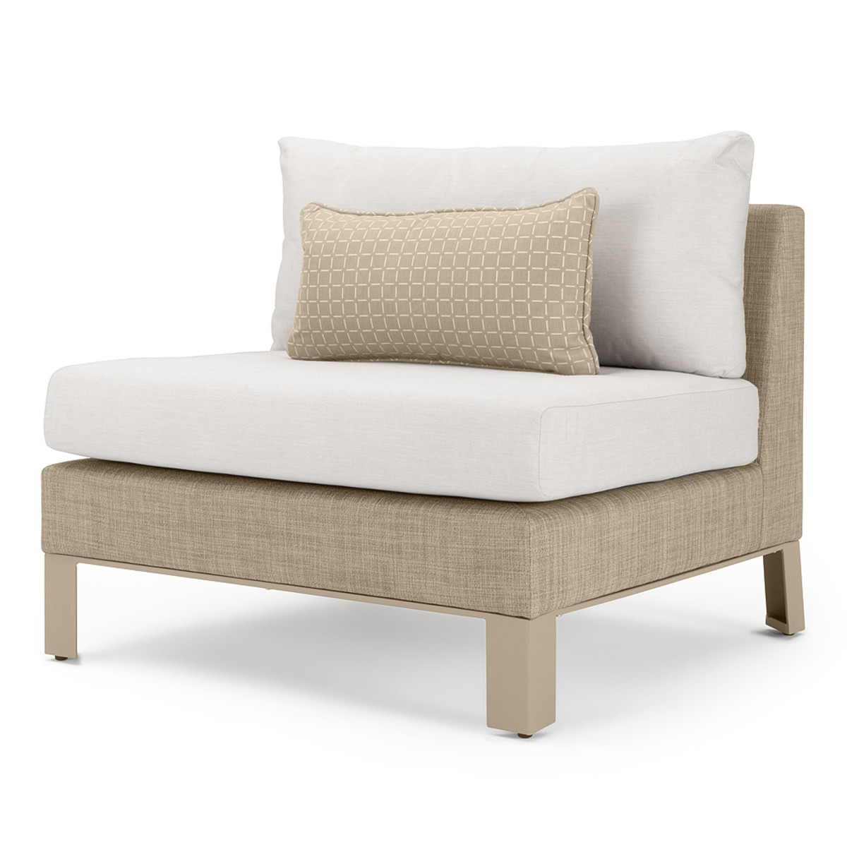 Portofino Sling 6pc Sectional – Beige Fennel
