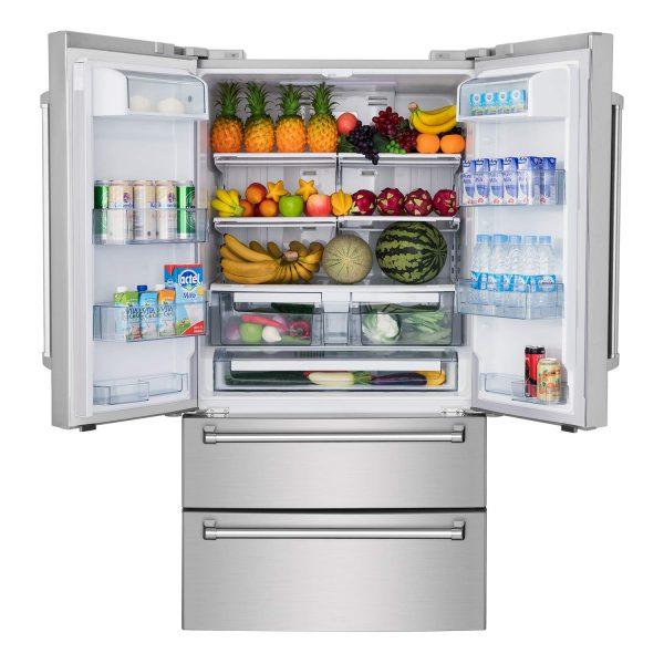 Thor Kitchen 36 Inch Counter Depth French Door Refrigerator | SBW