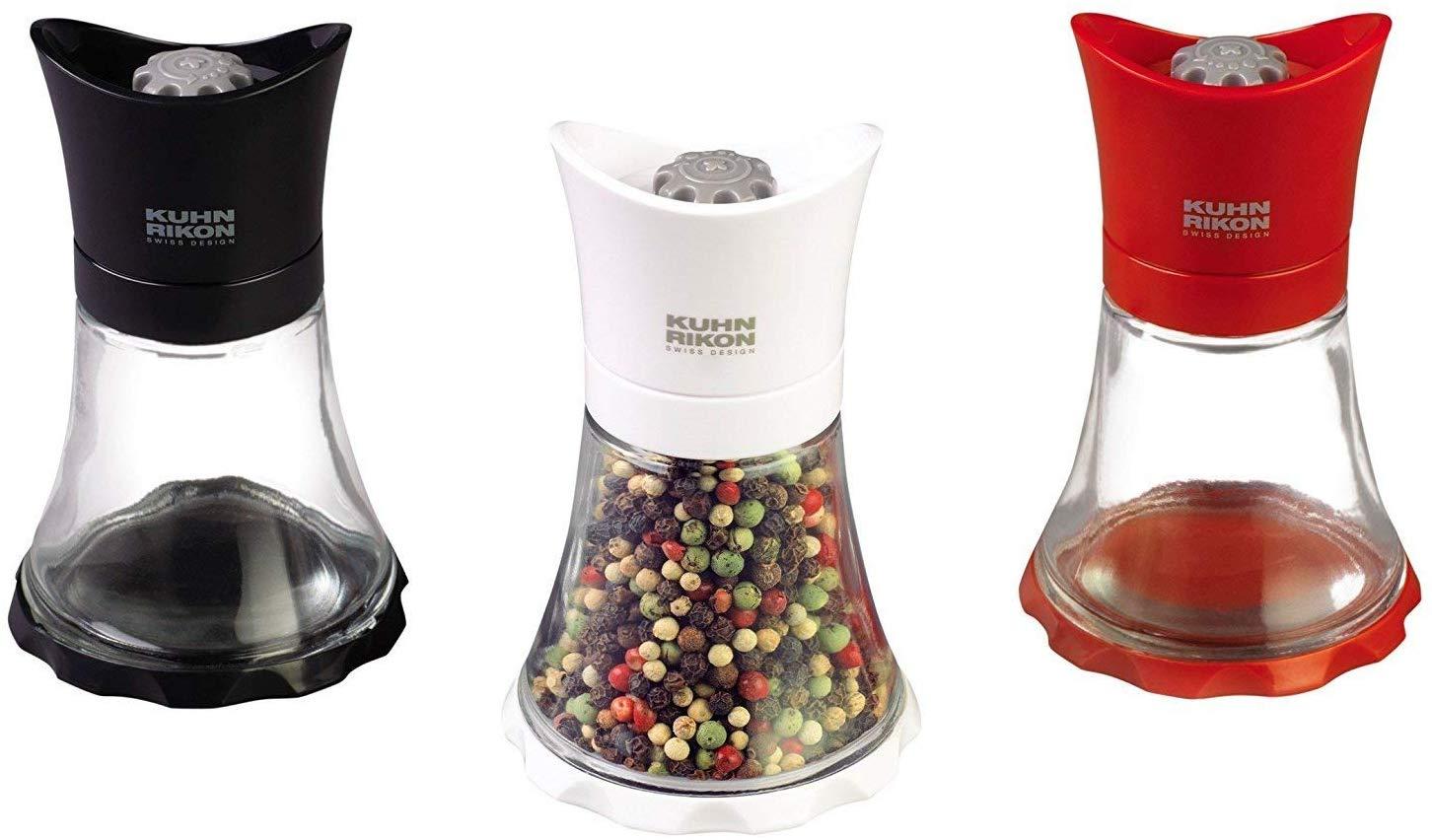 Kuhn Rikon Vase Grinder, Mini, Black
