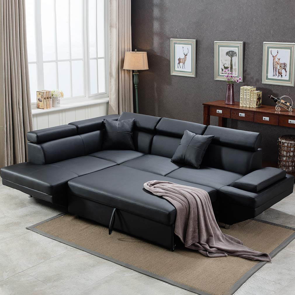 Fdw Sectional Sofa For Living Room