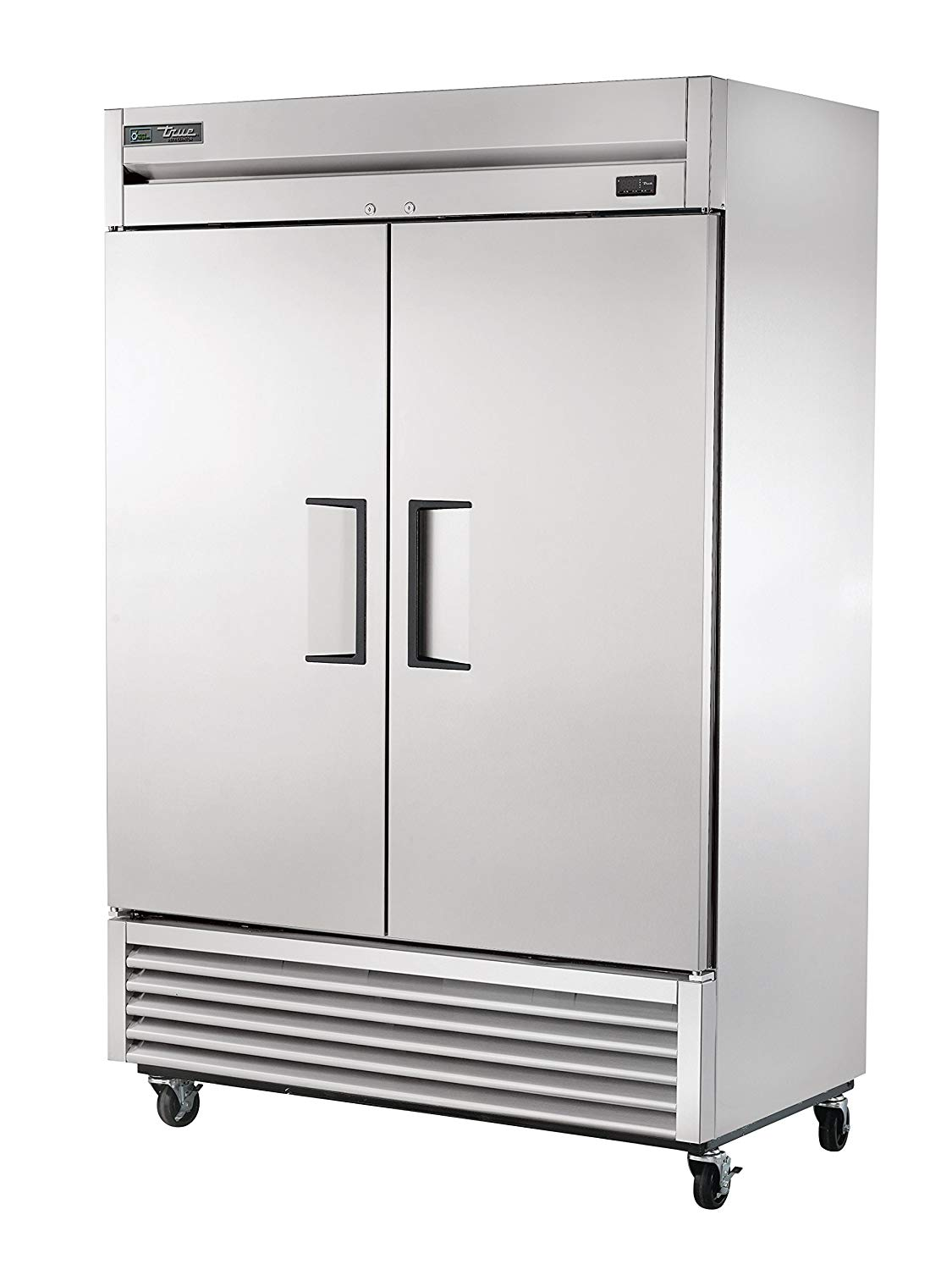 """True T-49-HC 54"""" Two Section Reach In Refrigerator, (2) Left/Right Hinge Solid Doors, 115v"""