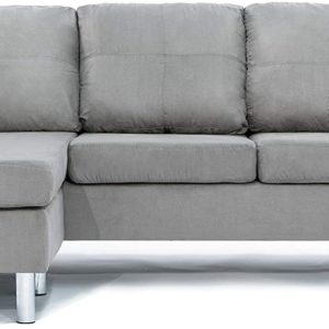 Divano Roma Modern Sectional Grey