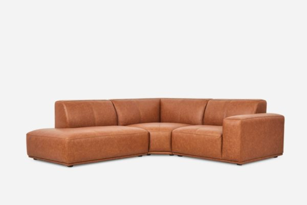 Todd Sectional Chaise Sofa Leather