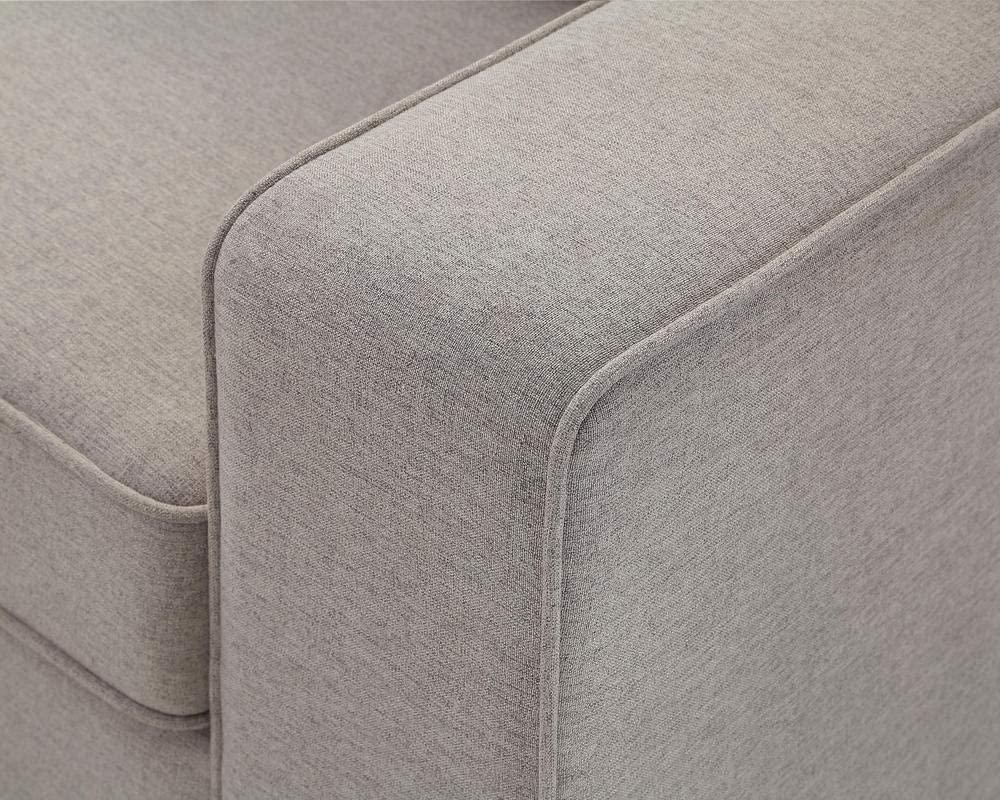 Lilola Home Casanova 7Pc Modular Sectional Sofa with Ottoman