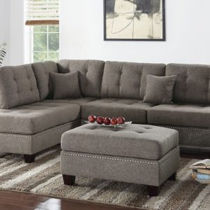 Poundex PDEX- Upholstered Sofas/Sectionals/Armchairs,coffee