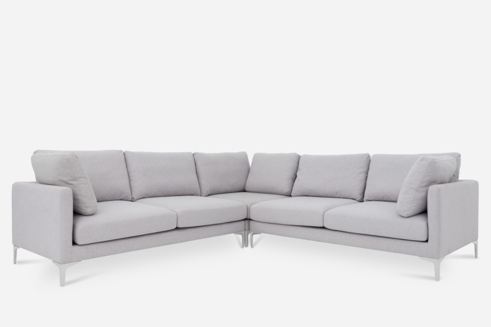 Adams L-Shape Sectional Sofa