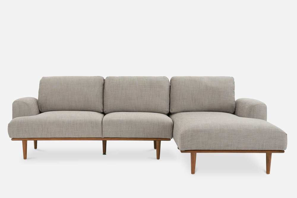 Henri-Sectional-Sofa-Right-Light-Brown-Front