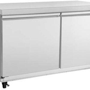 "Kratos Refrigeration 69K-768 48""W Undercounter Refrigerator, 2 Door"