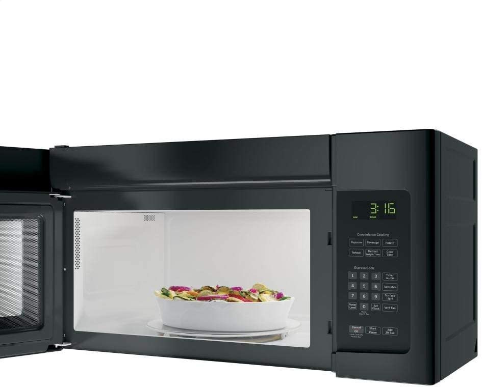 GE JNM3163DJBB 1.6 cu. ft. Over-the-Range Microwave, Black