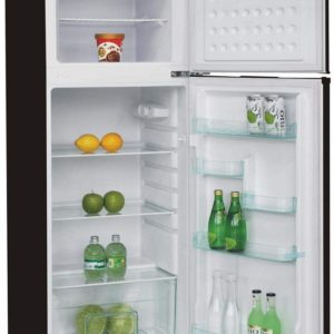 Technical Details Brand Name Equator-Ascoli Item Weight 117 pounds Product Dimensions 26.37 x 23.42 x 59.81 inches Energy Use 334 kilowatt_hours Capacity 10.4 cubic feet Refrigerator Fresh Food Capacity 7.73 cubic feet Freezer Capacity 2.75 cubic feet Installation Type Free standing Part Number ATFR1050ES Form Factor Compact, Freezer_top Color Stainless Voltage 115 volts Defrost Automatic Door Hinges Reversible Door Material Type Stainless Steel Shelf Type Glass Shelves 2 Certification UL Batteries Required? No Manufacturer Warranty 1 year Residential Limited Parts & Labor / 90 days Commercial Limited Parts & Labor