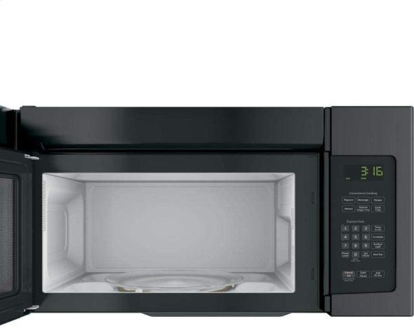 GE JNM3163DJBB 1.6 cu. ft. Over-the-Range Microwave, Black