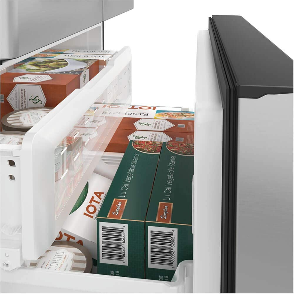 Cafe CYE22TP2MS1 36 Inch Counter Depth French Door Refrigerator