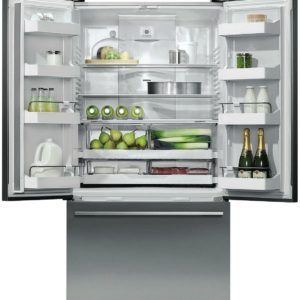 Fisher Paykel RF201ADUSX5 36 Inch Counter Depth French Door Refrigerator with 20.1 cu ft. Total Capacity in Stainless Steel