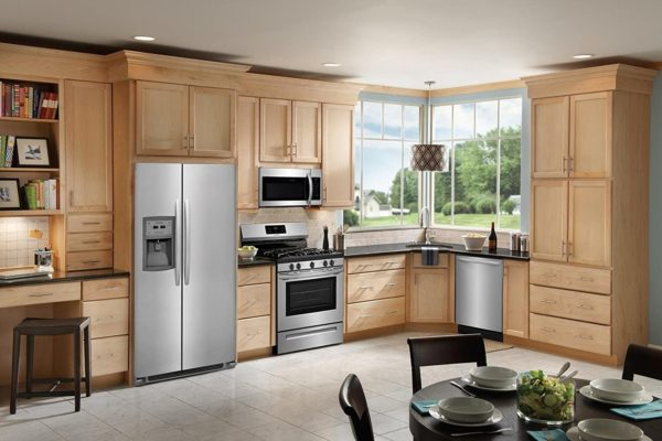 Frigidaire FFSC2323TS 36 Inch Stainless Steel Freestanding Side by Side Refrigerator