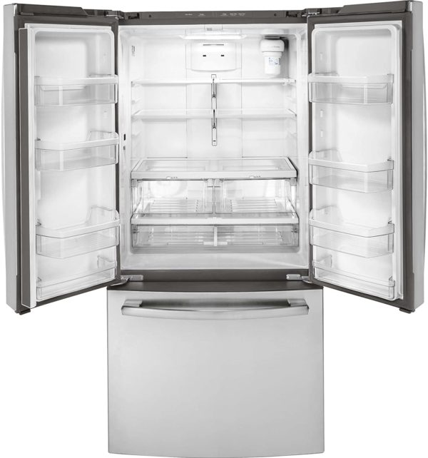 GE Appliances GWE19JSLSS, White