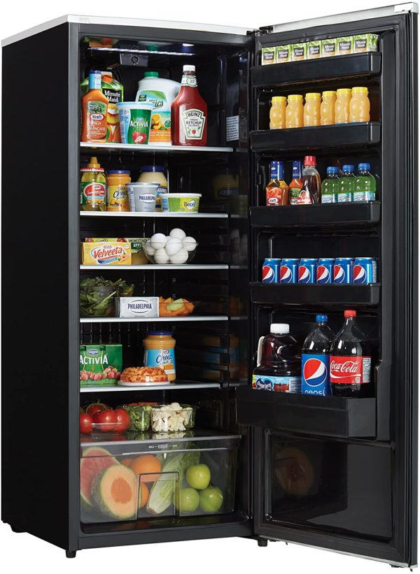 Danby DAR110A2MDB 11.0 cu.ft. Contemporary Classic All Refrigerator, Black