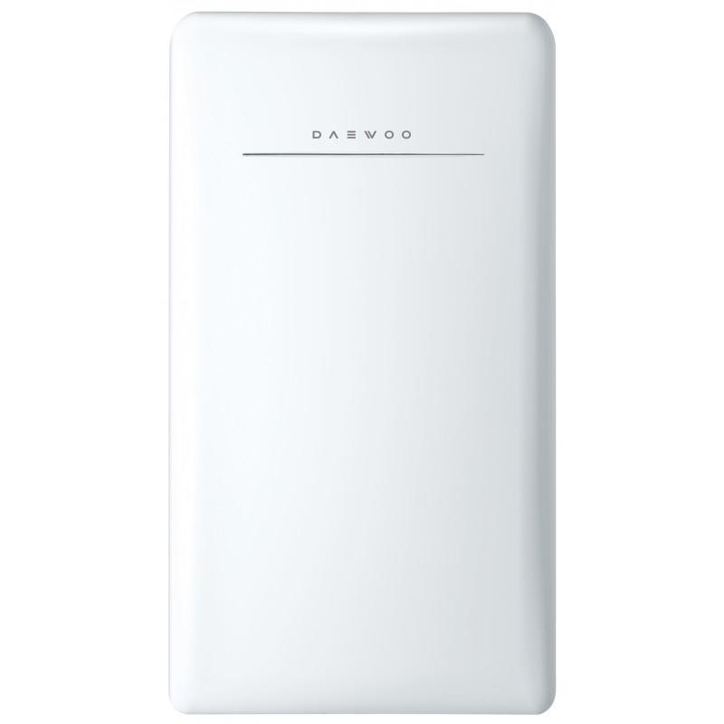 Daewoo FR-044RCNW Retro Compact Refrigerator 4.4 Cu. Ft.   Cream White