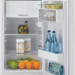 Daewoo FR-044RCNW Retro Compact Refrigerator 4.4 Cu. Ft. | Cream White