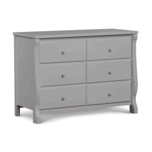 Delta Children Universal 6 Drawer Dresser, Grey