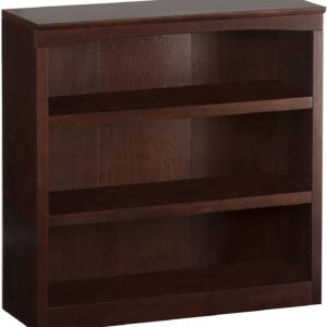 Atlantic Furniture Harvard Book Shelf, Antique Walnut, 36-Inch