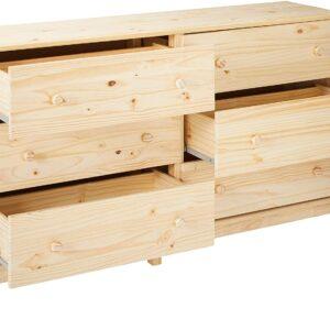 Ikea TARVA TARVA Ikea 6 Drawer Chest, Solid Wood Pine