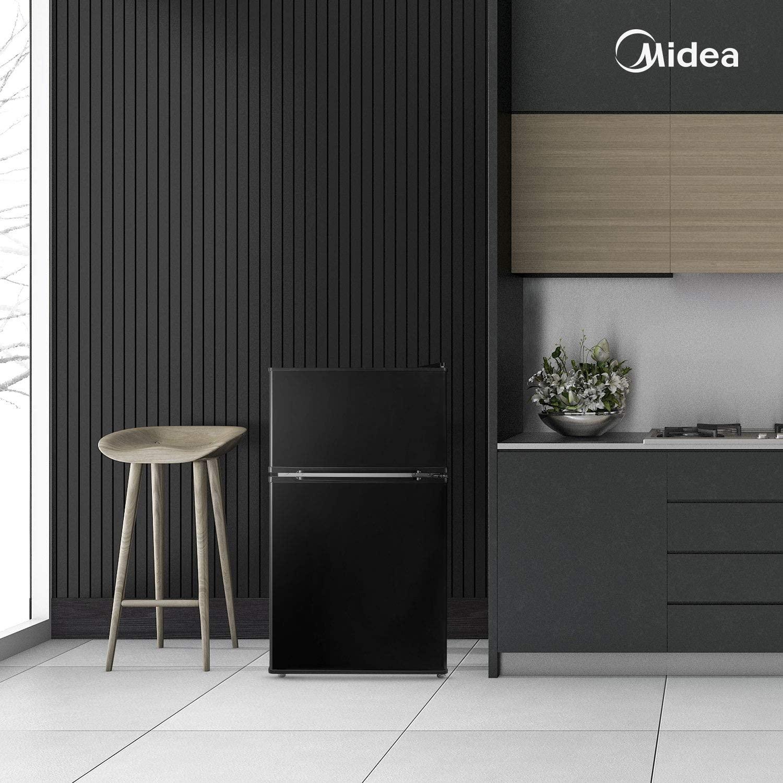 Midea 3.1 Cu. Ft. Compact Refrigerator, WHD-113FB1 – Black