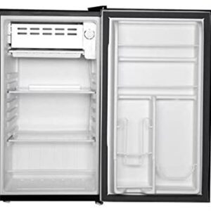 RCA RFR320 Single Door Mini Fridge with Freezer, 3.2 Cu. Ft. capacity – Black