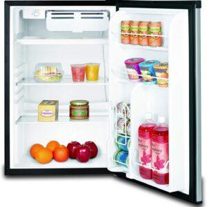 Frigidaire single door EFR492, 4.6 cu ft Refrigerator, Stainless Steel Door, Platinum Series